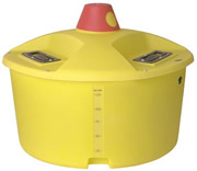 Ace / DenHartog 155 Gallon Liquid Feeder Tank (Uses up to three 24-inch wheels)