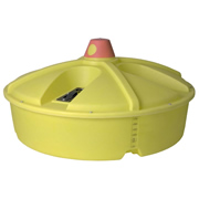 Ace / DenHartog 180 Gallon Liquid Feeder Tank (Uses up to four 16-inch wheels)