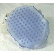 Imported Horse Supply Gel Scrubbies- Blue 6In 1
