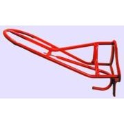 Imported Horse Supply Saddle Rack English Fwdst Red