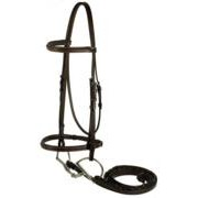 Gatsby Leather Company 103-H Fancy Snaffle Bridle