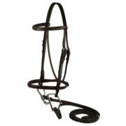 Gatsby Leather Company 118-H Sq Raised Bridle Horse