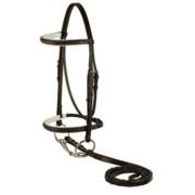 Gatsby Leather Company 119-H Raised Pad Bridle Hrse