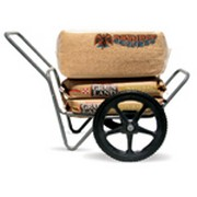 "High Country Plastics Dura Cart/Dolly 7 cu.ft. with 20"" Bike Tire Worry Free"