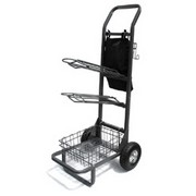 High Country Plastics Two wheeled Saddle Rack Cart